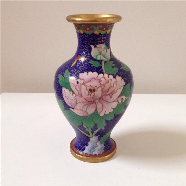 Cloisonné Vases - A Pair - Image 7 of 8