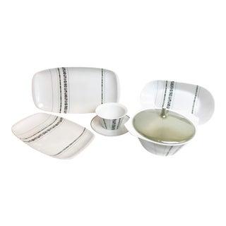 Vintage 1960s Rosenthal Grunewald Porcelain Serving Pieces - 5 Pieces For Sale