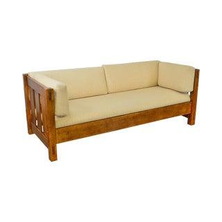 Stickley Mission Oak Collection Settle Sofa (B)