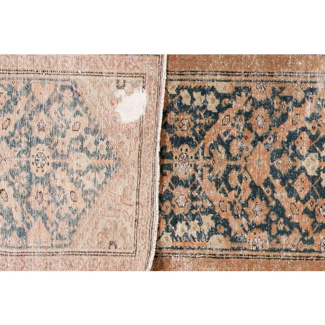 "Islamic Apadana-Antique Persian Distressed Rug, 2'4"" X 15'10"" For Sale - Image 3 of 10"
