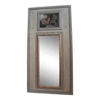 French Trumeau Mirror For Sale