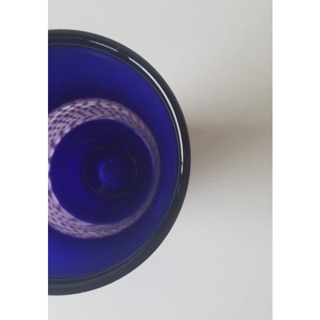 2000 - 2009 Steve Gibbs Blown Glass Vase for Corning Museum of Glass For Sale - Image 5 of 13