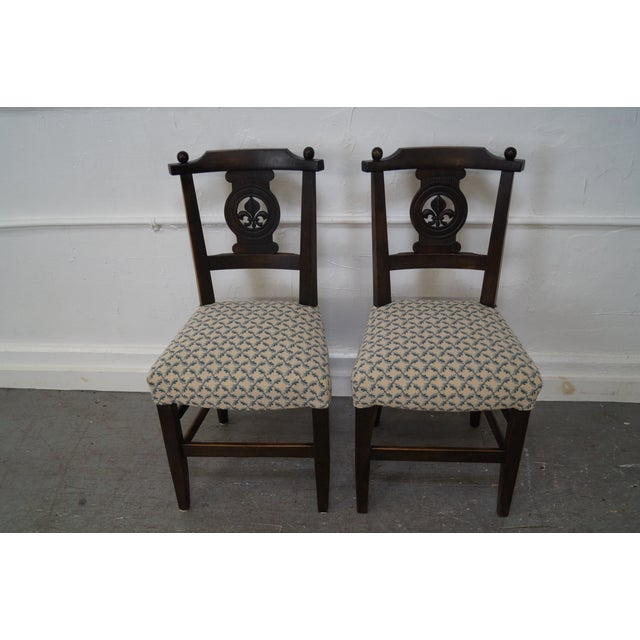 Antique 19th C. French Country Dining Chairs - 4 - Image 2 of 10