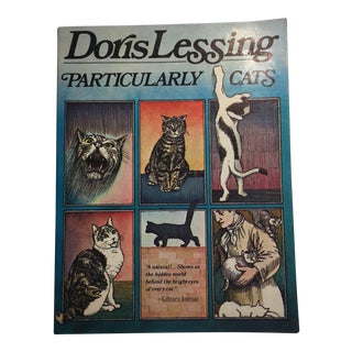 1978 Vintage Particularly Cats Book by Doris Lessing For Sale