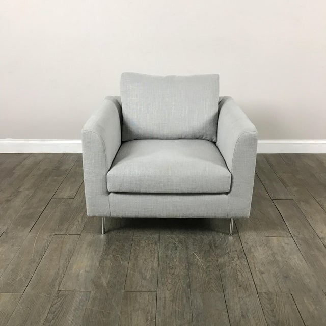 Clean Lined Modern Armchair - Image 3 of 11