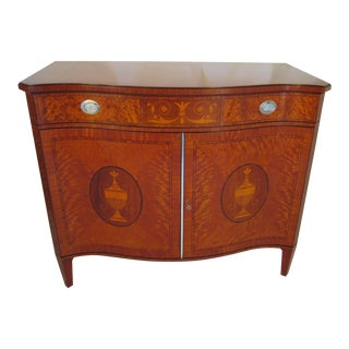 1940s Vintage Schmieg and Kotzian Satinwood Chest For Sale