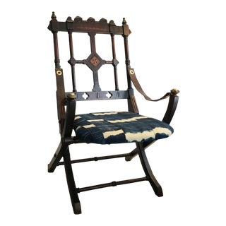 1860s Eastlake Folding Chair For Sale