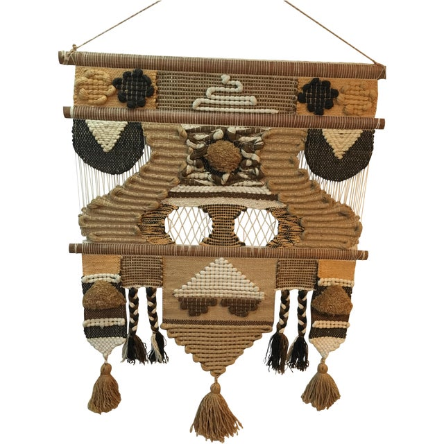 Don Freedman Macrame Wall Hanging For Sale