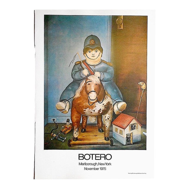 Vintage Poster Lithograph by Fernando Botero - Image 1 of 3