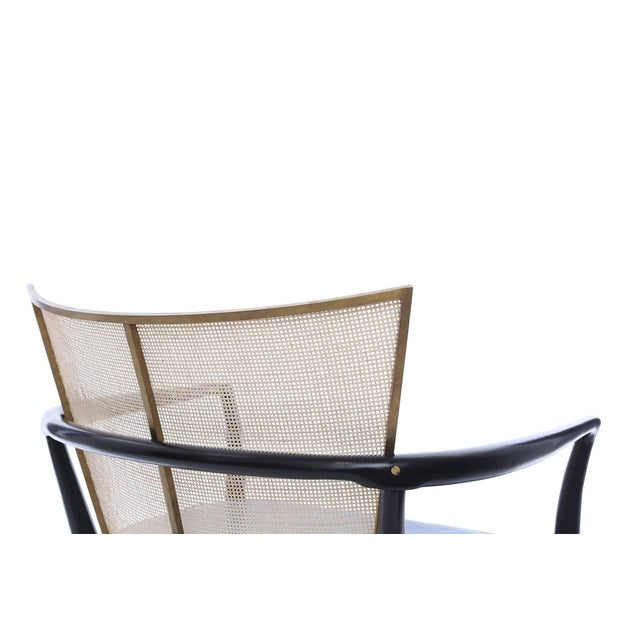 1950s Bert England for Johnson Ebonized Lounge Chair For Sale In Phoenix - Image 6 of 7