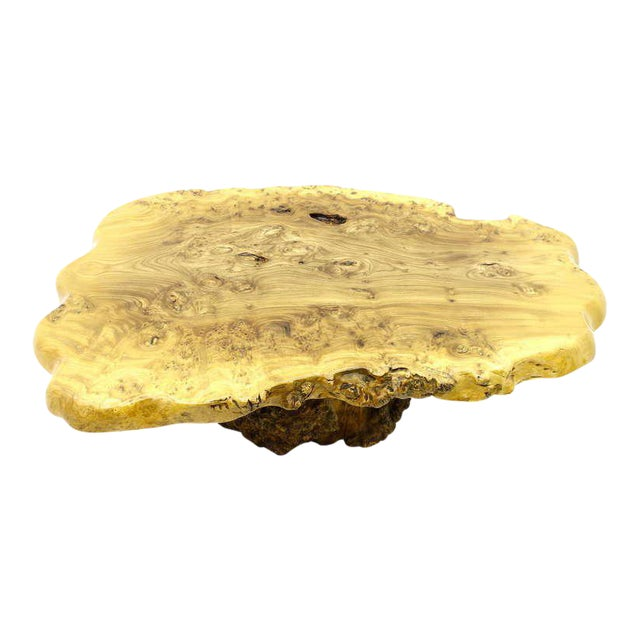 Large Tree Trunk Coffee Table, 1970s For Sale