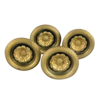 French Curtain Tie-Backs - Set of 4 For Sale