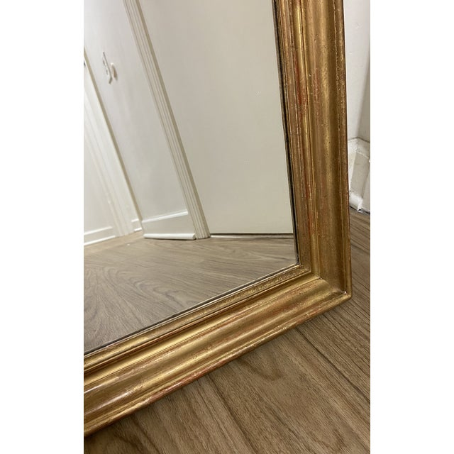 Early 19th Century Giltwood Louis Philippe Mirror For Sale In Nashville - Image 6 of 8