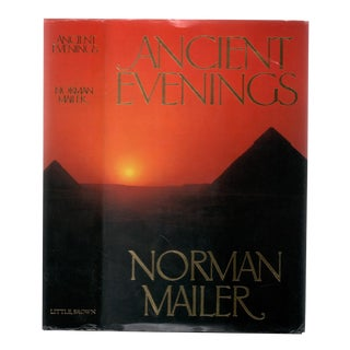 "1983 ""Signed First Edition, Ancient Evenings"" Collectible Book For Sale"
