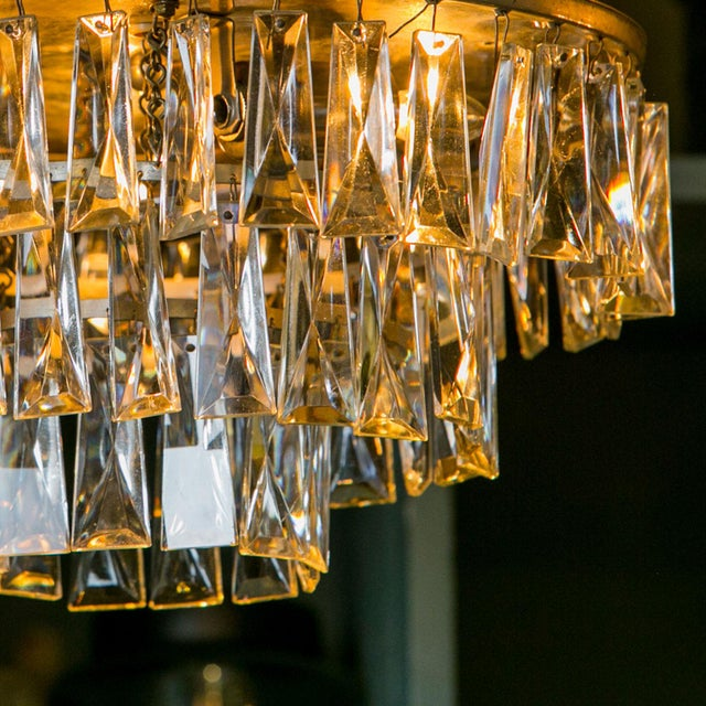 Vintage French Chandelier For Sale - Image 4 of 6