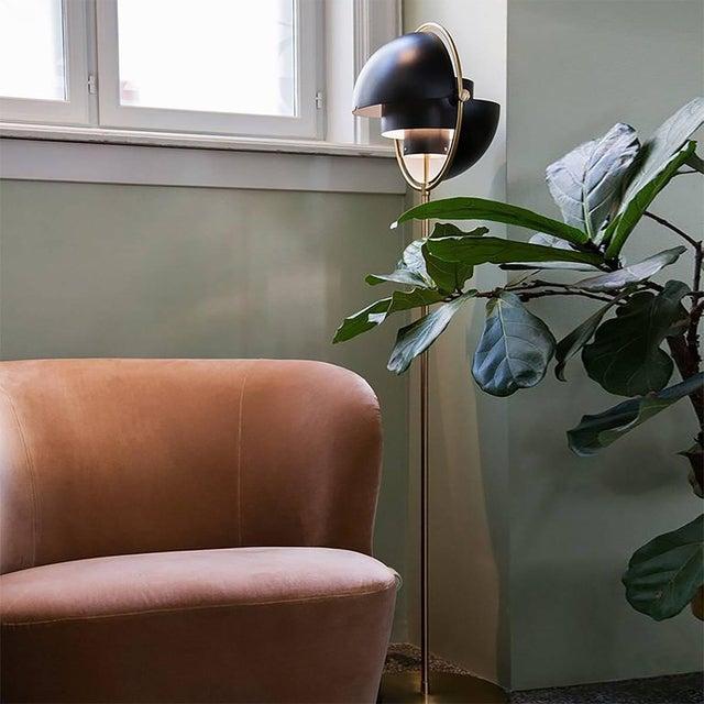 2010s Brass Multi-Light Floor Lamp, Louis Weisdorf For Sale - Image 5 of 6