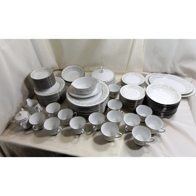 Here is an incredible set of Noritake China. The pattern is Savannah 2031. This discontinued china was made from 1969 to...