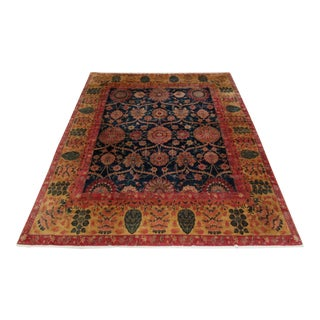 """Vintage Indian Hand-Knotted Persian """"Bidjar-Style"""" Oriental Rug-10' X 12' 6"""" For Sale"""