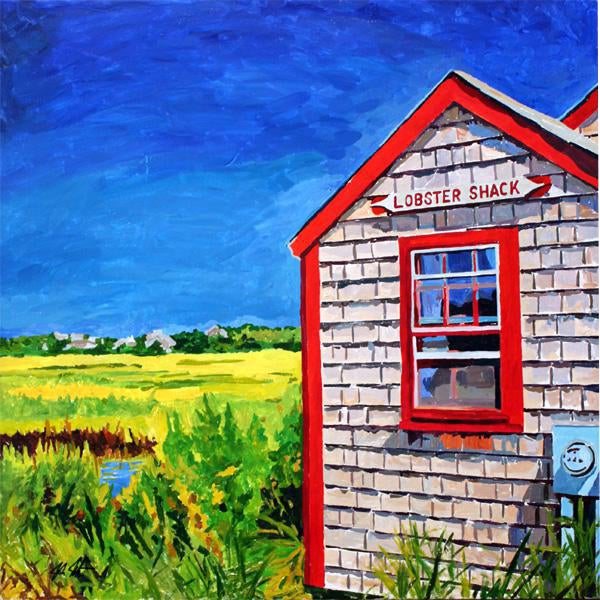 Contemporary Acrylic Nantucket Series #3 Painting For Sale