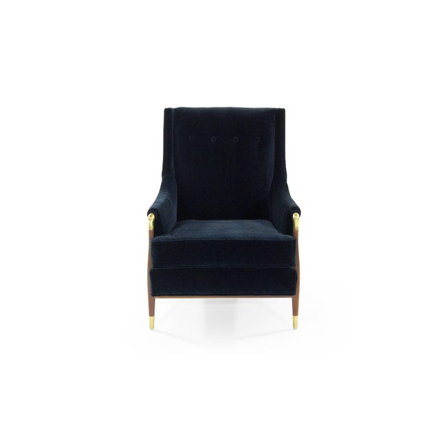 Sculptural Gio Ponti Style Lounge Chair, 1950s For Sale In New York - Image 6 of 12
