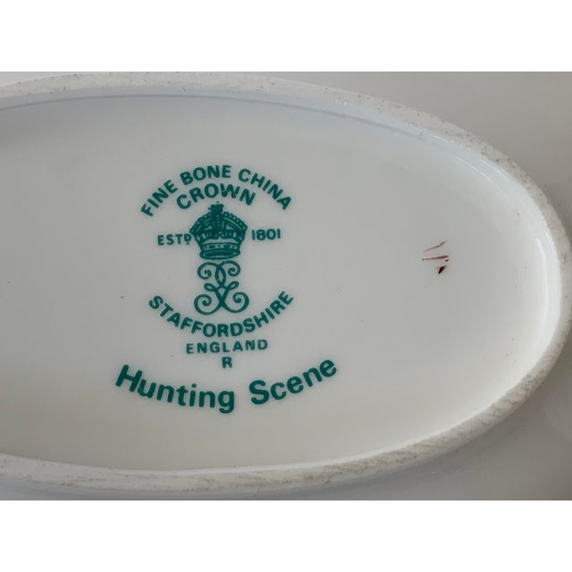 Staffordshire Hunting Scene Bowl For Sale - Image 10 of 11