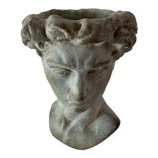 Head Face Pot Vase Planter For Sale