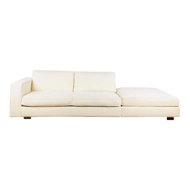 Fabulous Minotti Contemporary Hilton White Upholstered Sofa Caraccident5 Cool Chair Designs And Ideas Caraccident5Info