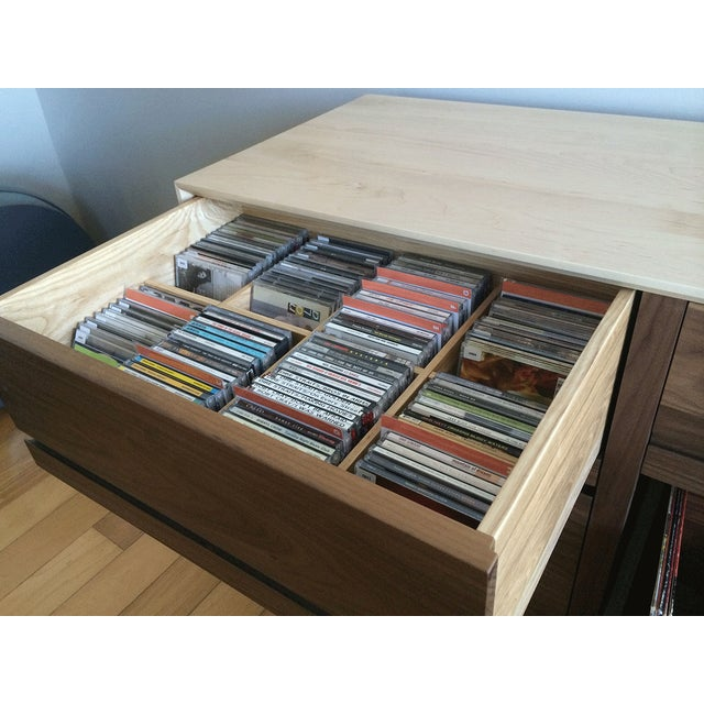 Mid-Century Modern CD Cabinet by Symbol Audio - Image 4 of 11