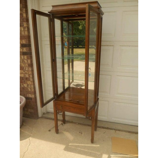Century Furniture Oriental-Style Lit Curio - Image 3 of 7