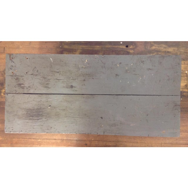 Primitive Industrial Gray Potting Table - Image 3 of 10
