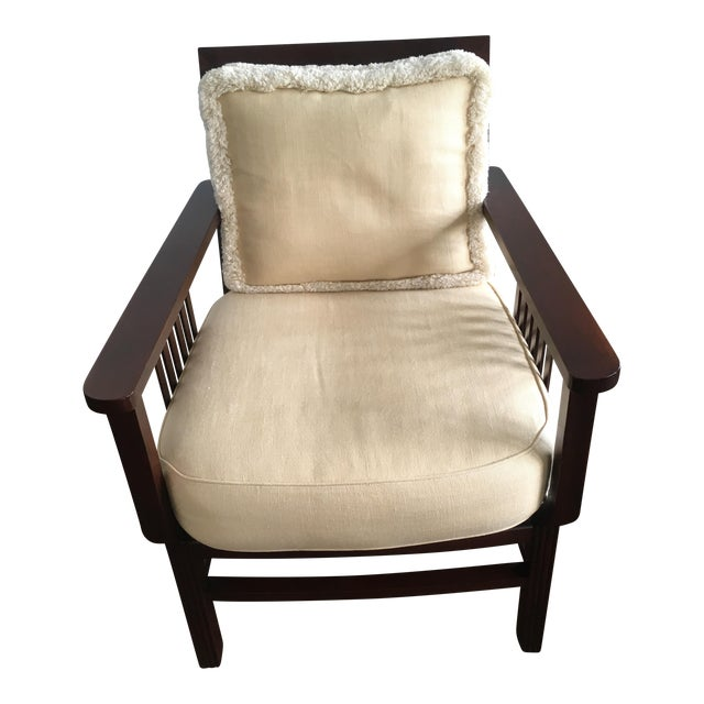 Mariette Himes Gomez Slat Back Chair - Image 1 of 6