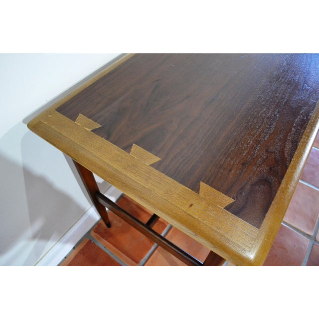 Brown Mid Century Modern Desk by Lane Acclaim For Sale - Image 8 of 12