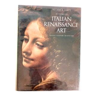 History of Italian Renaissance Art Coffee Table Art Book 2nd Edition - Hardbound For Sale