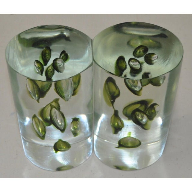 Mid 20th Century 1960s Antonio Da Ros Hand Made Glass Sculptural Bookends For Sale - Image 5 of 6