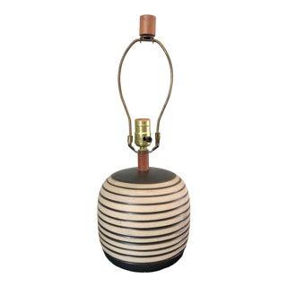 Mid Century Gordon Martz Marshall Studios Pottery Table Lamp For Sale