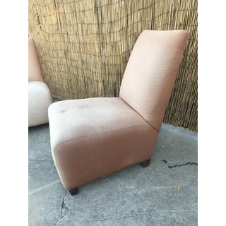1960s Vintage Slipper Chairs- A Pair Preview