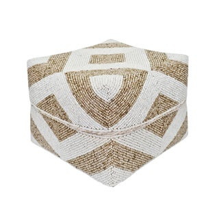 Bamboo Beaded Box Large For Sale