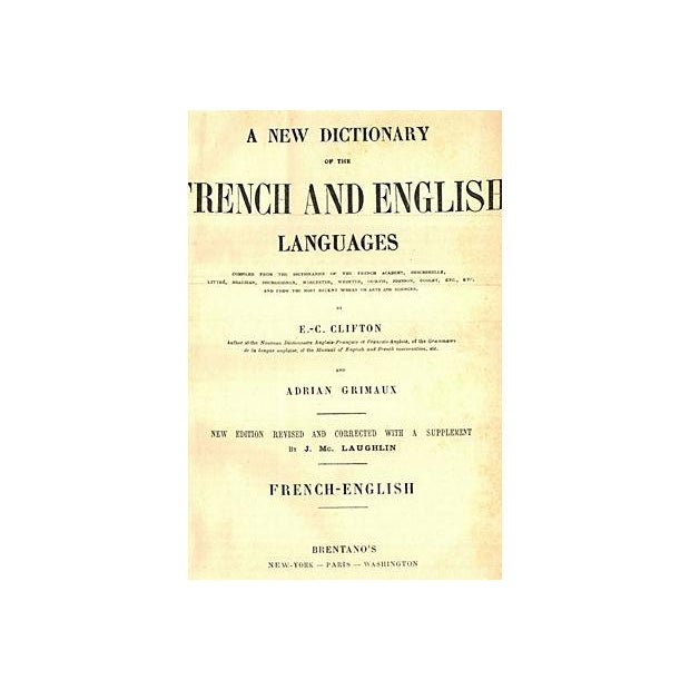French and English Dictionary - Image 2 of 2
