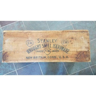Stanley Hardware Works Wooden Crate Preview
