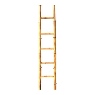Vintage Bamboo Ladder For Sale