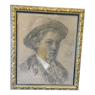 French Drawing by Paul Sieffert For Sale