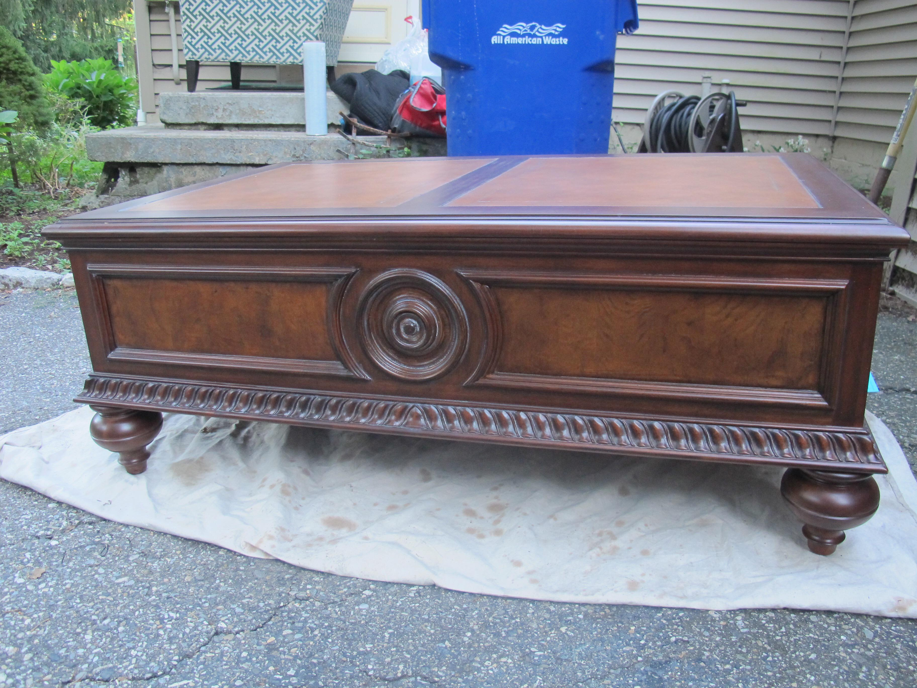 Ethan Allen Morley Coffee Table Chairish