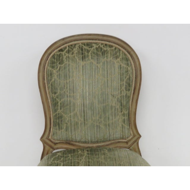 French Distressed Painted Dining Chairs - Set of 6 - Image 6 of 10