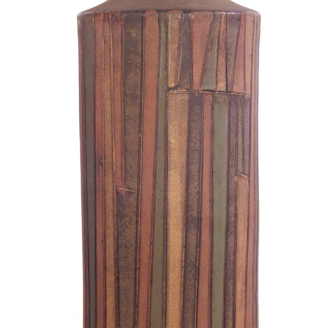 Tall Striking Aldo Londi Table Lamp For Sale In New York - Image 6 of 10