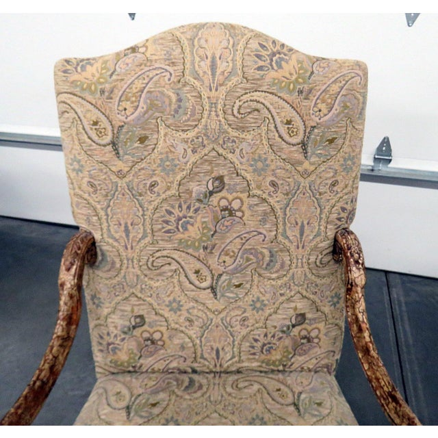 Louis XV Style Tapestry Armchairs - a Pair For Sale - Image 4 of 12