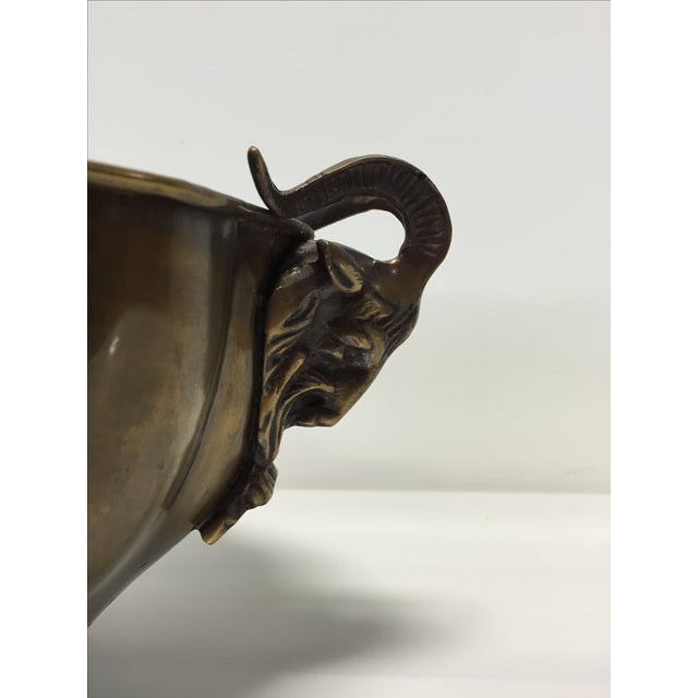 Brass Goat Head Bowl - Image 10 of 10