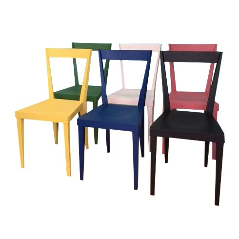 Livia Chairs by Gio Ponti for l'Abbate - Set of 6 For Sale