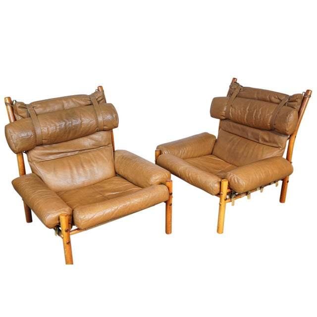Arne Norell Inca Chairs - A Pair - Image 5 of 5