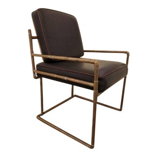 Copper Pipe Lounge Chair