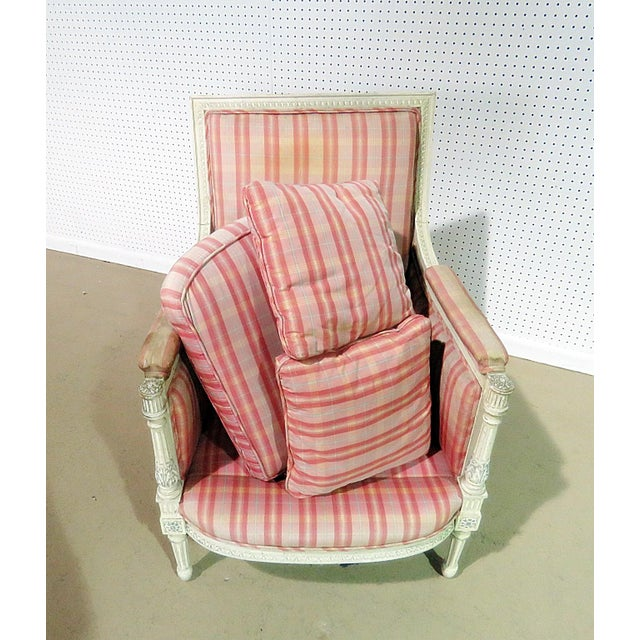 Swedish Style Bergere For Sale - Image 10 of 13